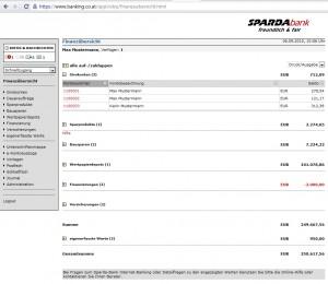 Sparda online Banking