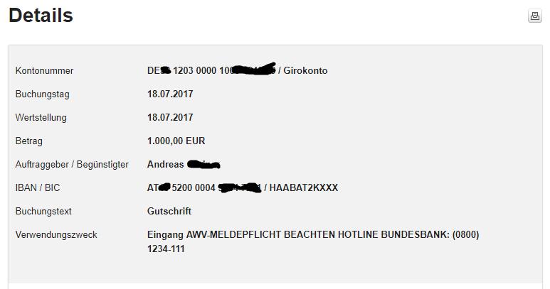 Meldepflicht Beachten Hotline Bundesbank