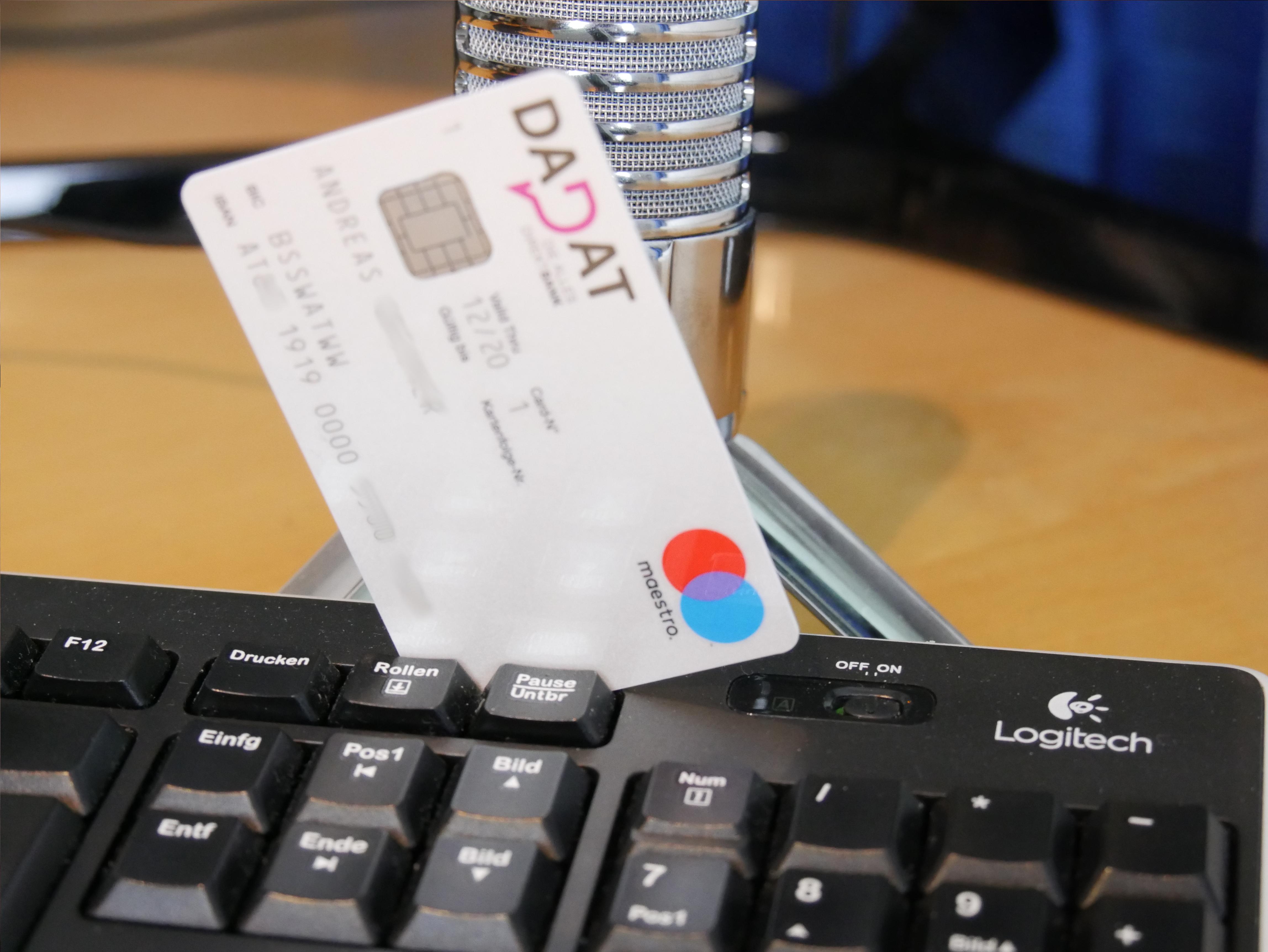 DADAT Girokonto mit Gehaltseingang - Test & 4 pers. Erfahrungsberichte