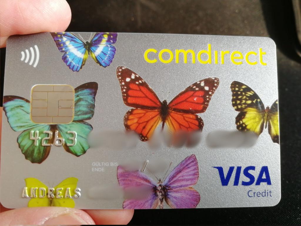 Visa Karte Comdirect.Comdirect Girokonto In österreich 0 Konto Inklusive Apple Pay